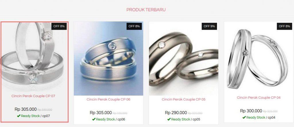 Pilih Model Cincin Perak