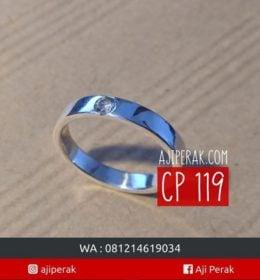 Cincin Perak CP 119 Jadi