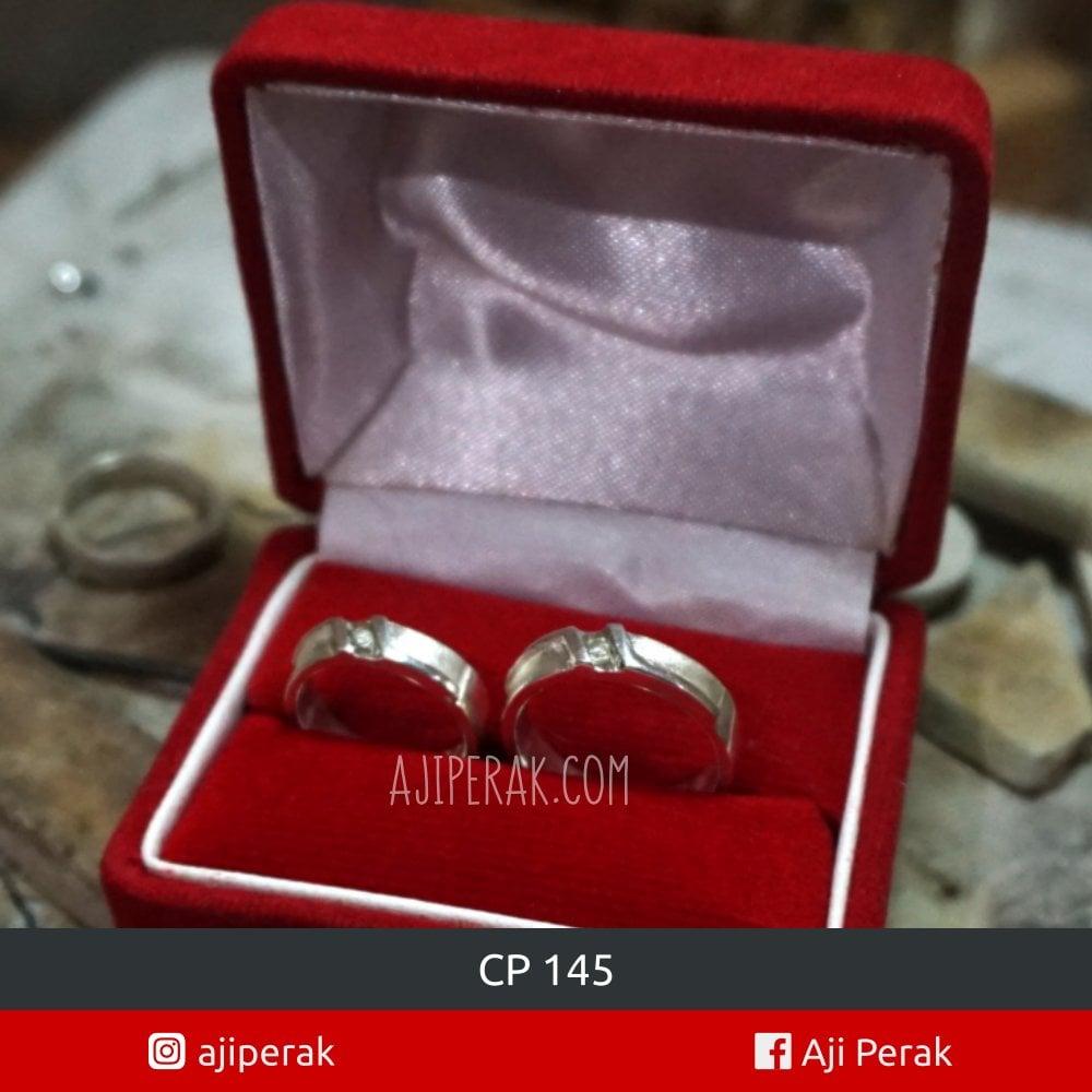 Cincin Perak Couple CP 145