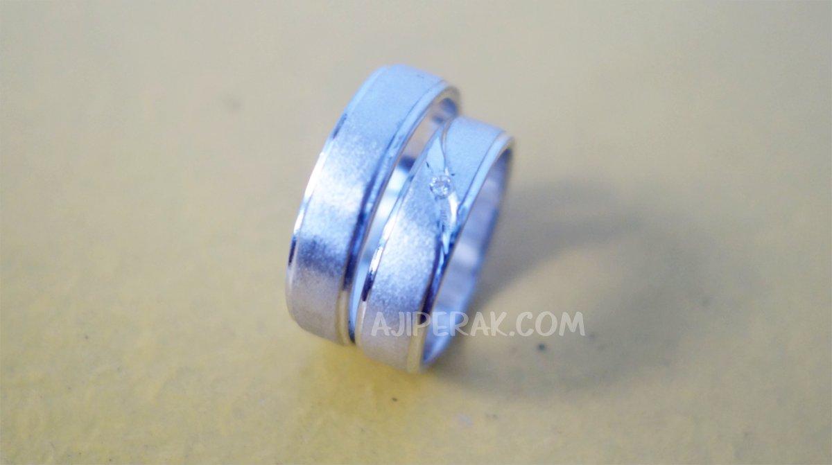 Cincin Perak Pasangan CP 133