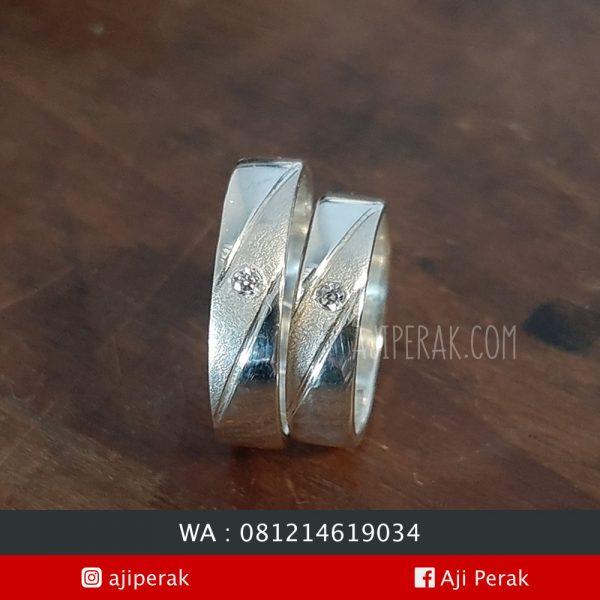 Cincin Perak Couple CP 142