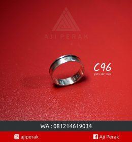 Cincin Perak Single C 96