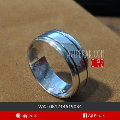 Cincin Perak Single C92