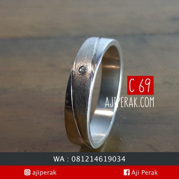 Cincin Perak Single C69