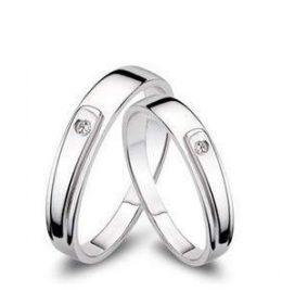 Cincin Perak Sepasang CP 106
