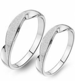 Cincin Perak Sepasang CP 111