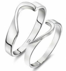 Cincin Perak Sepasang CP 113