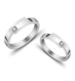 Cincin Perak Sepasang CP 116