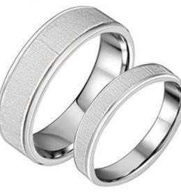 Cincin Perak Sepasang CP 129