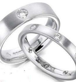Cincin Perak Sepasang CP 131