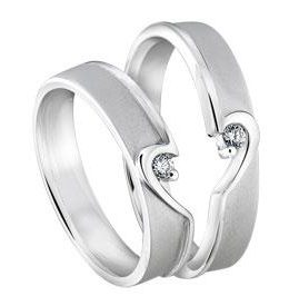 Cincin Perak Sepasang CP 136