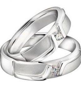 Cincin Perak Sepasang CP 145