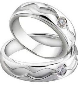 Cincin Perak Sepasang CP 147
