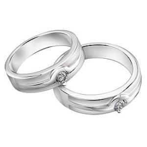 Cincin Perak Sepasang CP 148