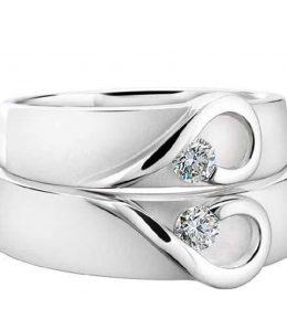 cincin perak pasangan cp 02