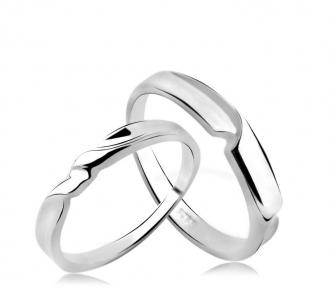 Cincin Perak Couple CP 20