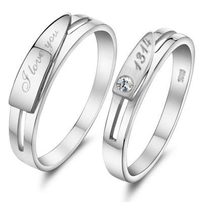 Cincin Perak Pasangan CP 24
