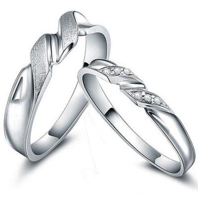 Cincin Perak Pasangan CP 27