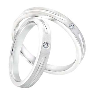 Cincin Perak Pasangan CP 28