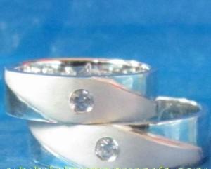 Cincin Perak Pasangan CP 37