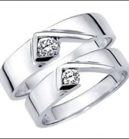 Cincin Perak Pasangan CP 38