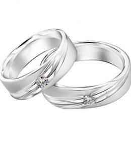 Cincin Perak Pasangan CP 43