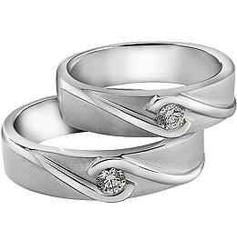 Cincin Perak Couple CP 75