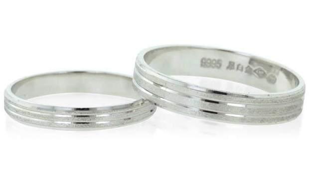 Cincin Perak Sepasang CP 92