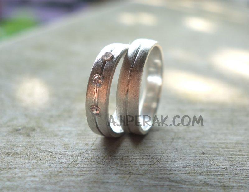 Cincin Perak Pasangan CP 96