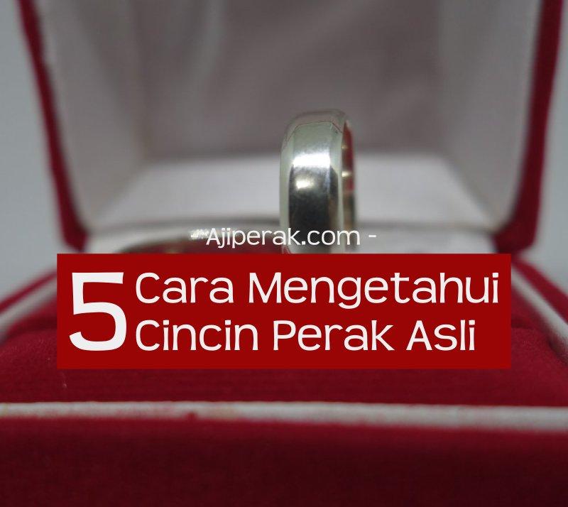 5 Cara Mengetahui Cincin Perak Asli