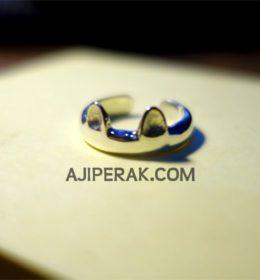 cincin perak custom lucu bentuk kucing