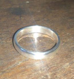 Cincin Perak Polos