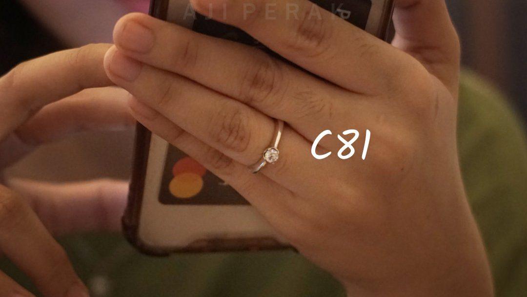 Cincin Perak Cewek C81